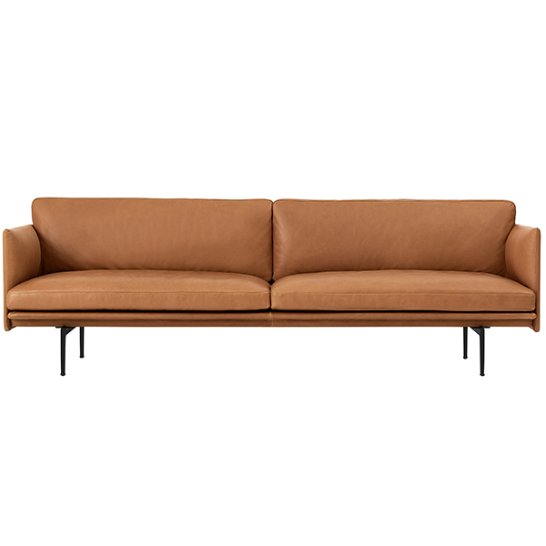 muuto outline sofa 3 seater finnish design shop. Black Bedroom Furniture Sets. Home Design Ideas