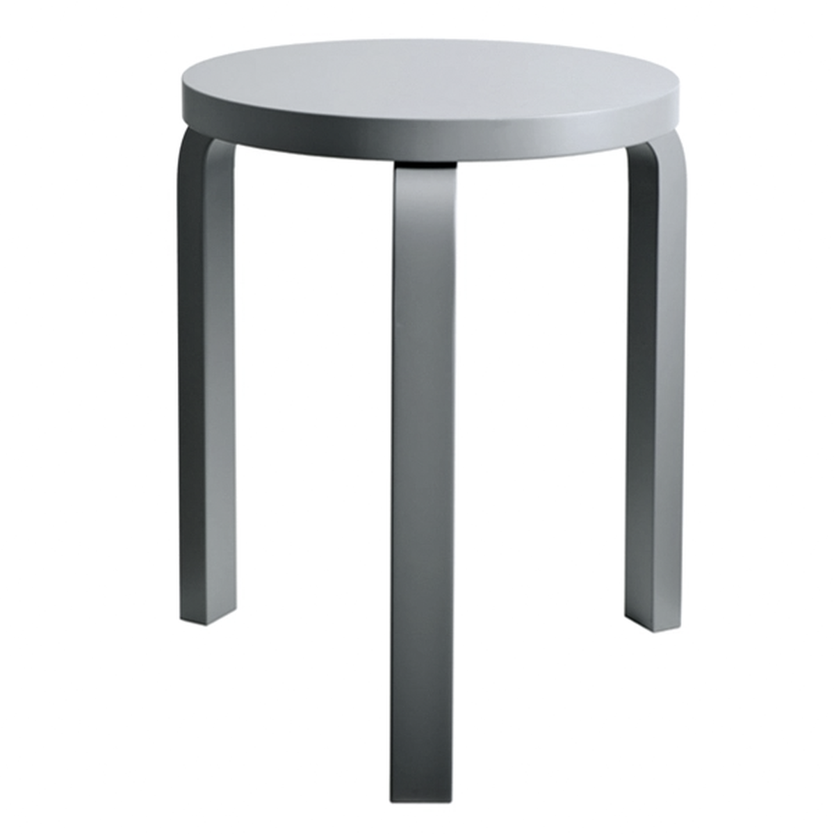 Strange Artek Aalto Stool 60 Grey Pre Used Design Franckly Creativecarmelina Interior Chair Design Creativecarmelinacom