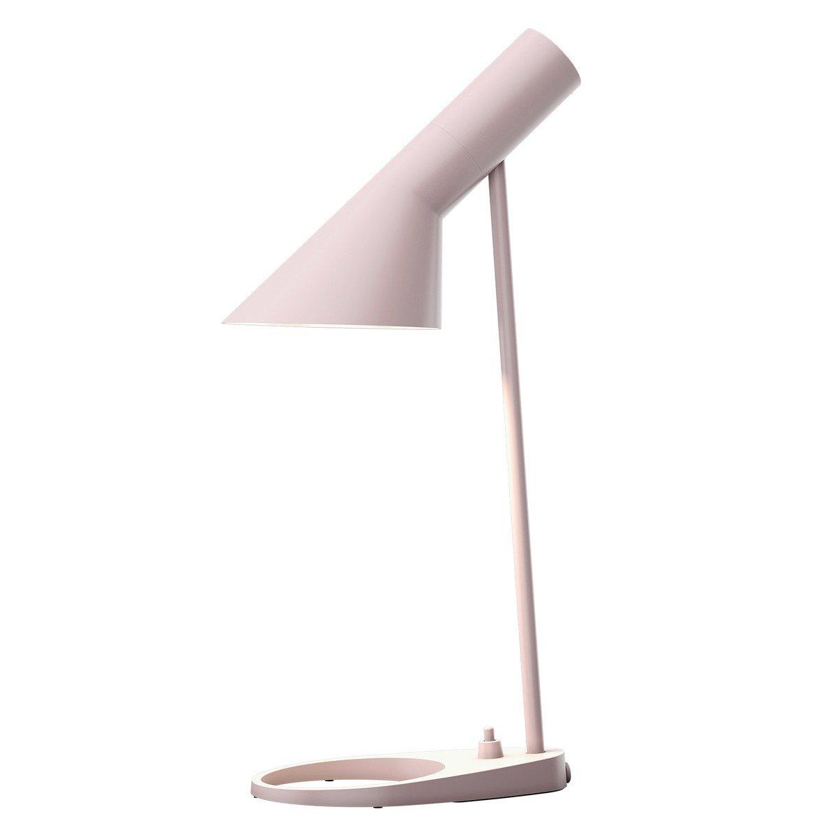 Louis Poulsen Aj Table Lamp, Pale Rose