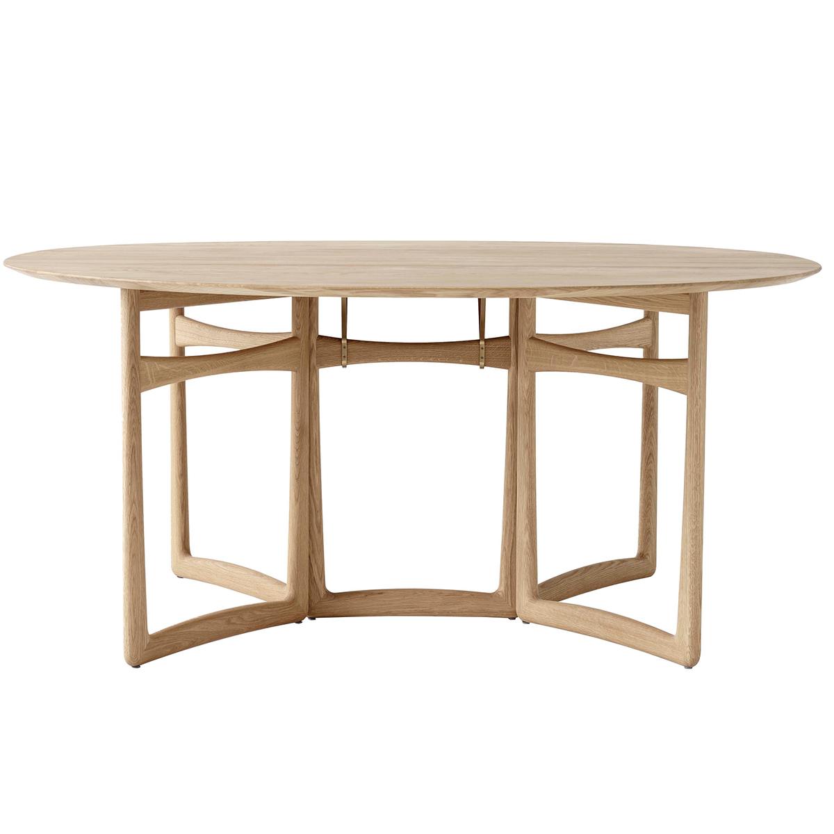 Landscape Lighting Around Pool, Tradition Drop Leaf Hm6 Dining Table White Oiled Oak Finnish Design Shop