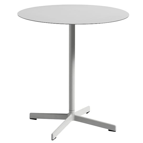 Hay neu table round light grey finnish design shop for Hay design milano