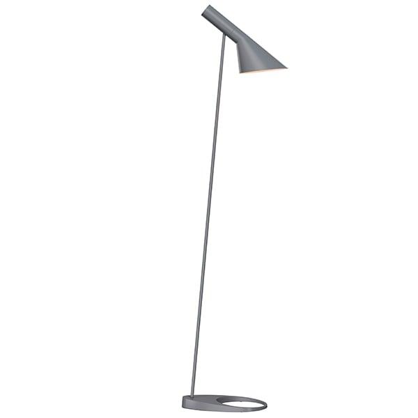 Louis Poulsen Aj Floor Lamp, Dark Grey