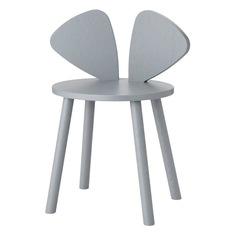 Nofred Mouse children's chair, grey