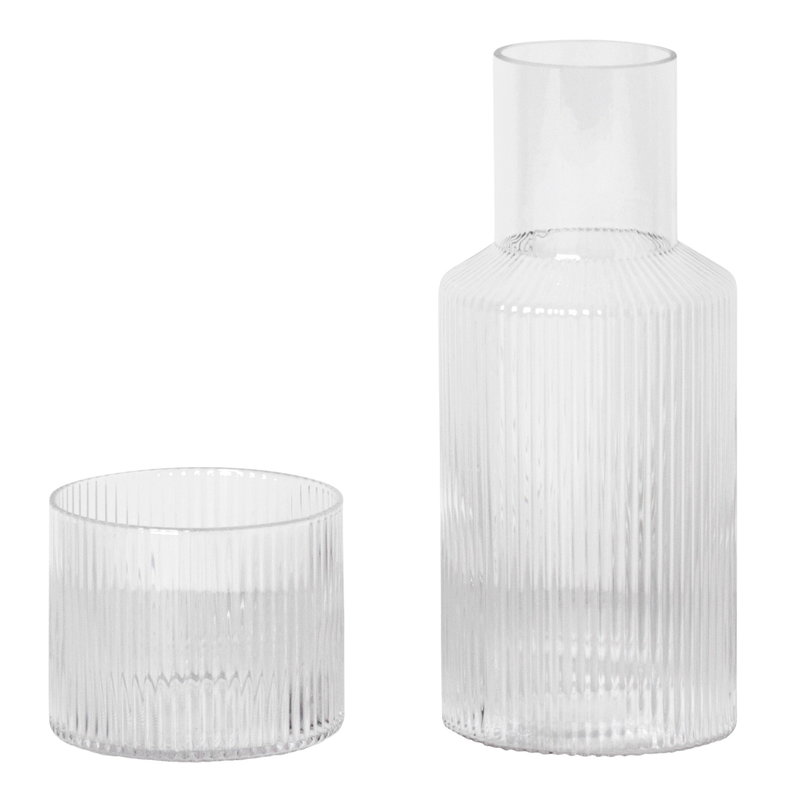 Ferm Living Set caraffa Ripple, piccolo