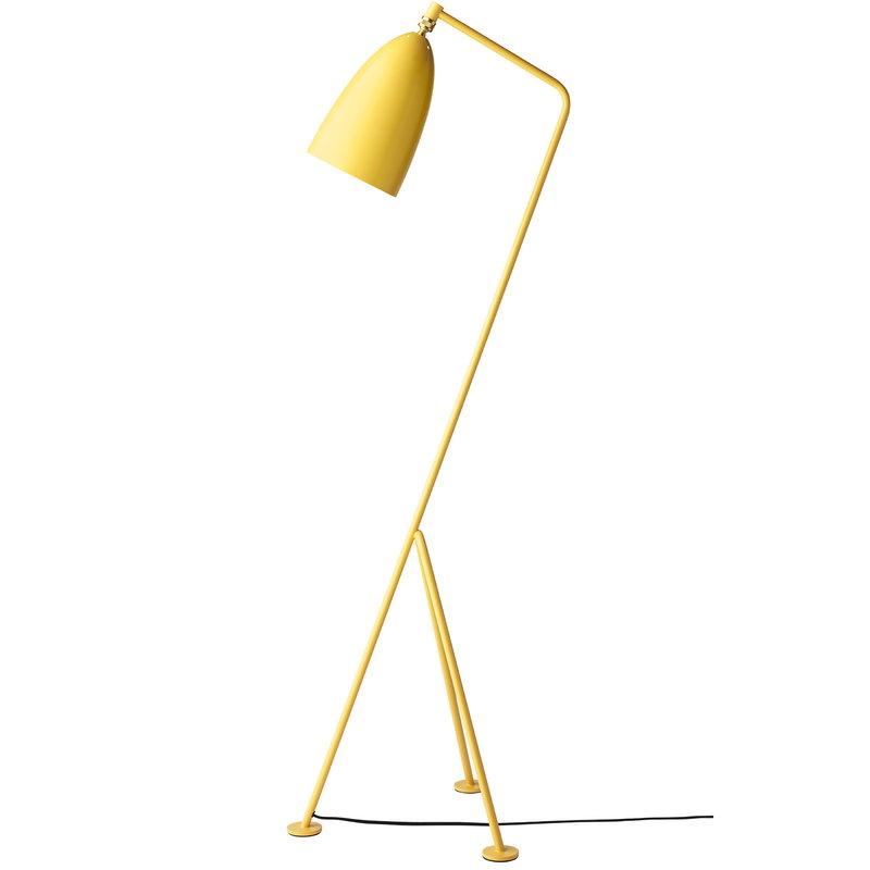 Gubi Lampada da terra Gräshoppa, giallo Aspen