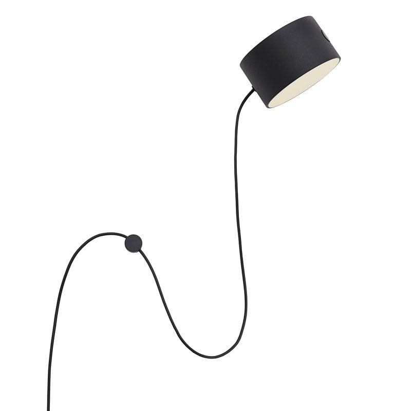Muuto Post wall lamp, black