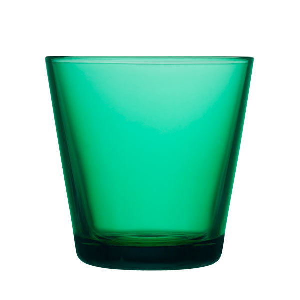 Iittala Bicchiere Kartio 21 cl, smeraldo, 2 pz