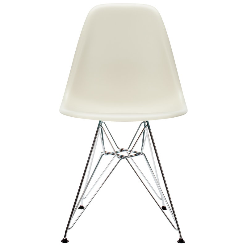 Vitra Eames DSR chair, pebble - chrome