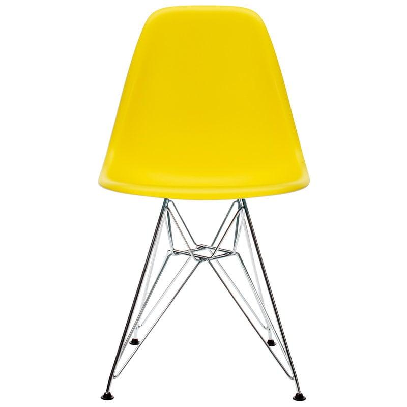 Vitra Eames DSR tuoli, sunlight - kromi