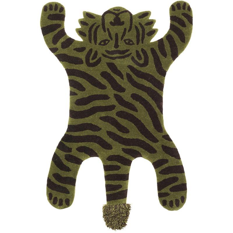 Ferm Living Safari tufted rug, tiger