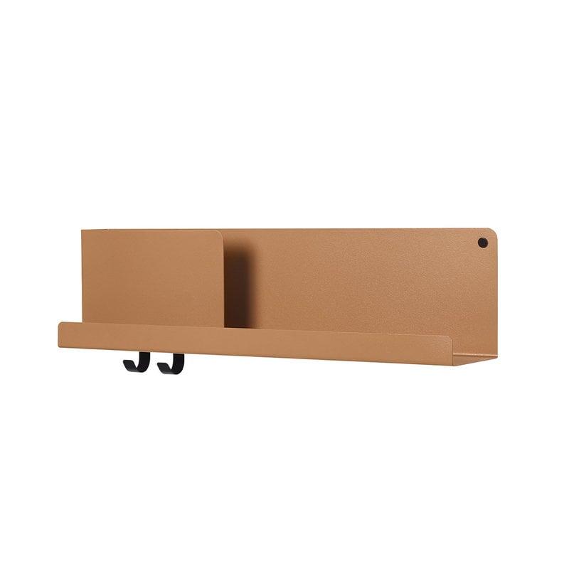 Muuto Folded shelf, burnt orange, medium
