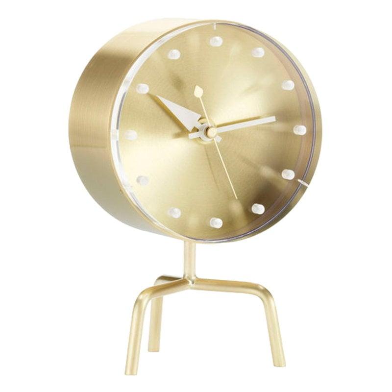 Vitra Tripod Clock pöytäkello, messinki
