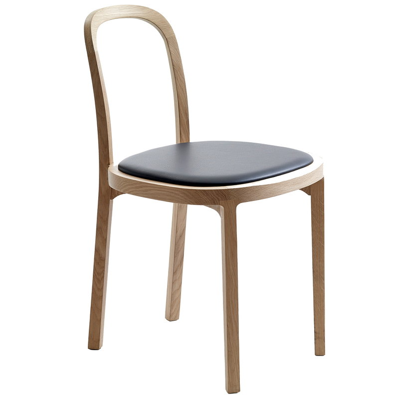 Woodnotes Siro+ chair, oak - black leather