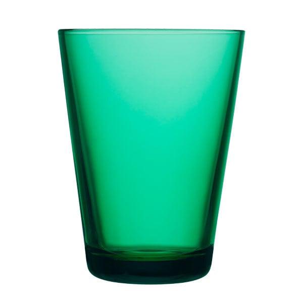 Iittala Kartio tumbler 40 cl, emerald, 2 pcs