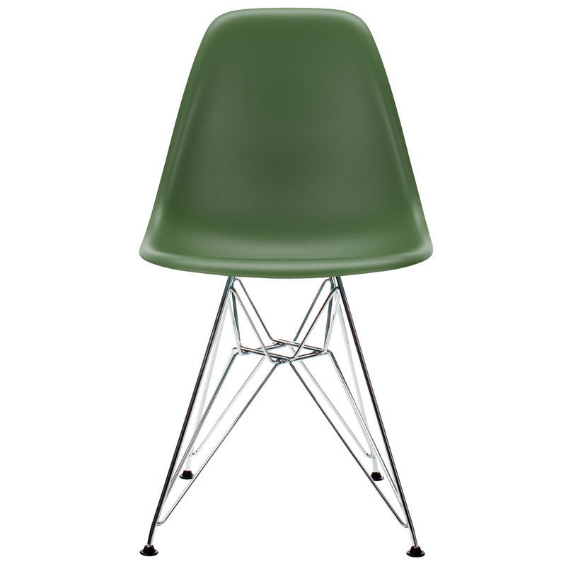 Vitra Sedia Eames DSR, forest - cromo | Finnish Design Shop