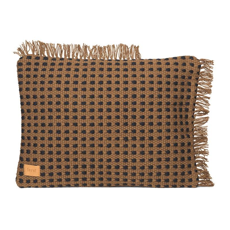 Ferm Living Way cushion, 70 x 50 cm, sugar kelp