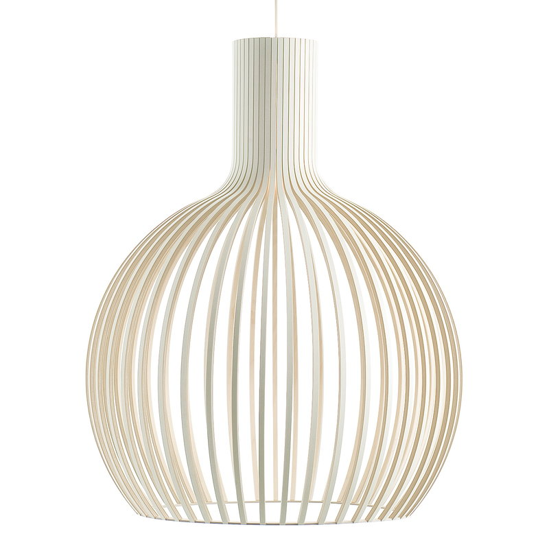 Secto Design Octo 4240 pendant, white