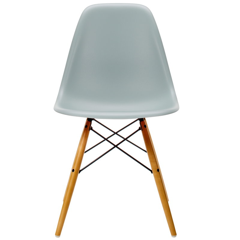 Vitra Eames DSW tuoli, light grey - vaahtera