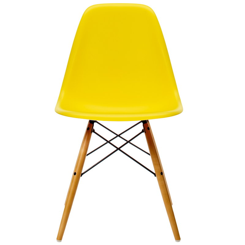 Vitra Eames DSW chair, sunlight - maple