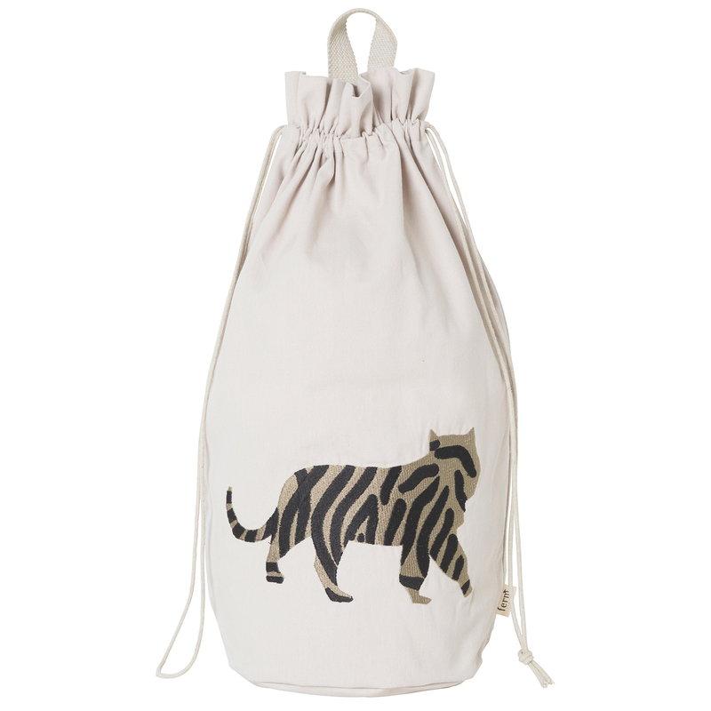 Ferm Living Safari säilytyskassi, tiikeri