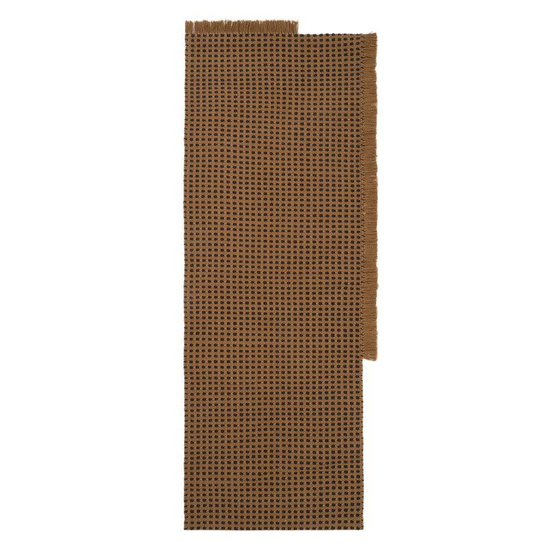 Ferm Living Way rug,  70 x 180 cm, sugar kelp