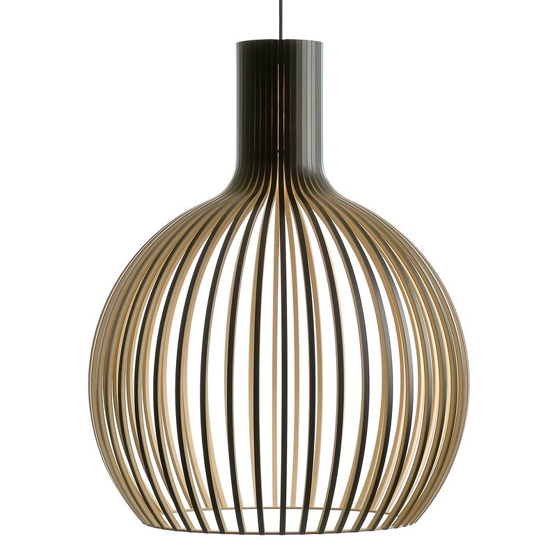 Secto Design Octo 4240 pendant, black