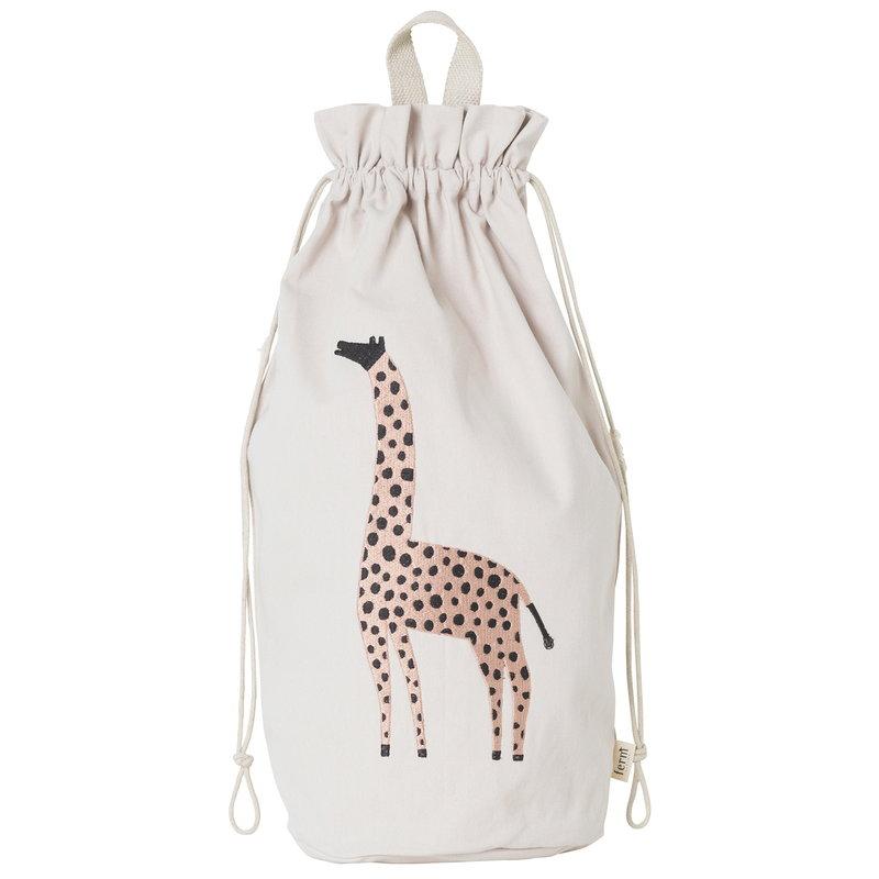 Ferm Living Safari storage bag, giraffe