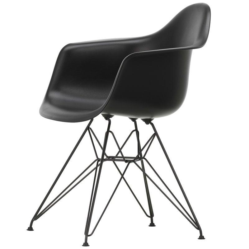 Vitra Eames DAR chair, deep black - basic dark