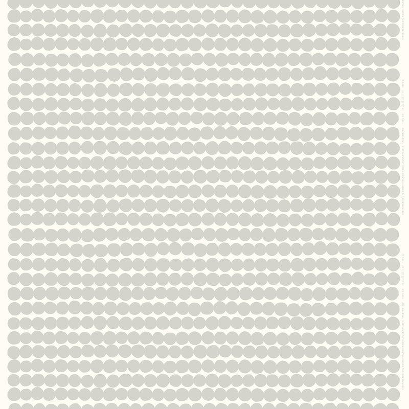 Marimekko Räsymatto pellavakangas, valkoinen - harmaa