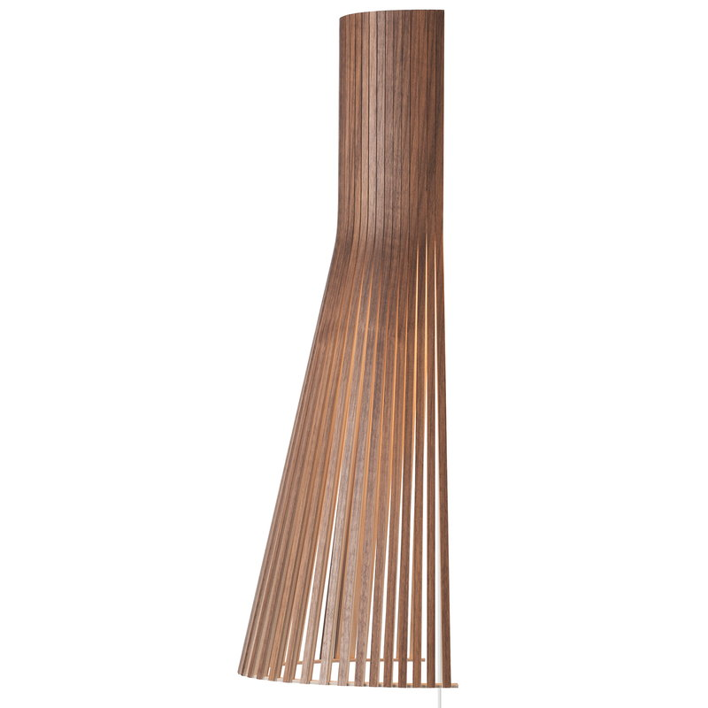 Secto Design Secto 4230 wall lamp 60 cm, walnut