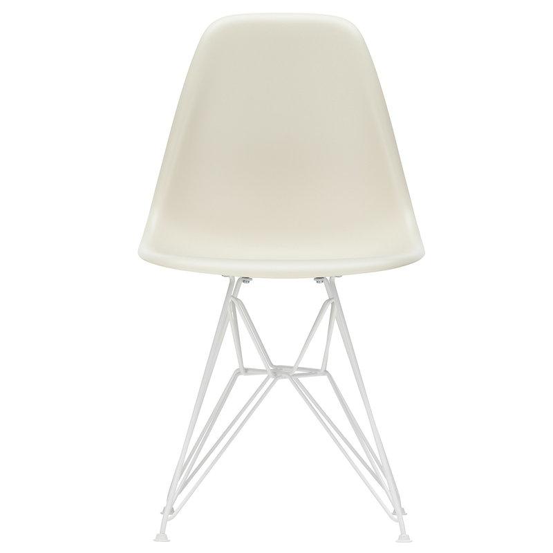 Vitra Sedia Eames DSR, pebble - bianco