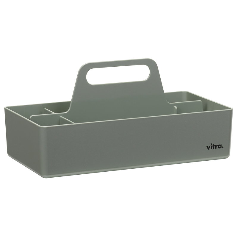 Vitra Contenitore Toolbox, moss grey