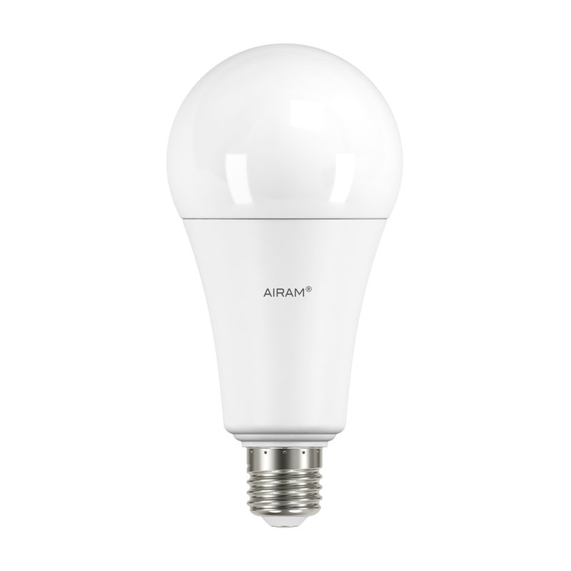 Airam LED Superlux opal standard bulb 21W E27 2700K, dimmable