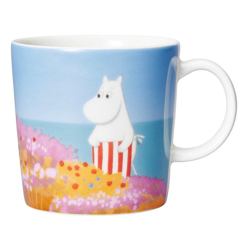 Arabia Moomin mug 0,3 L, Moominmamma's Mural
