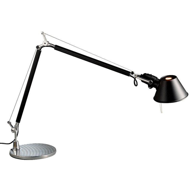 Artemide Tolomeo table lamp, black