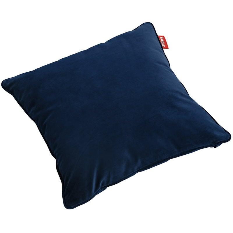 Fatboy Square Velvet pillow, dark blue