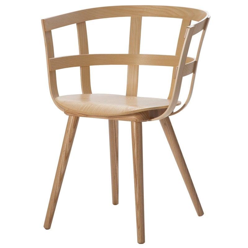 Inno Julie chair, matt lacquered ash