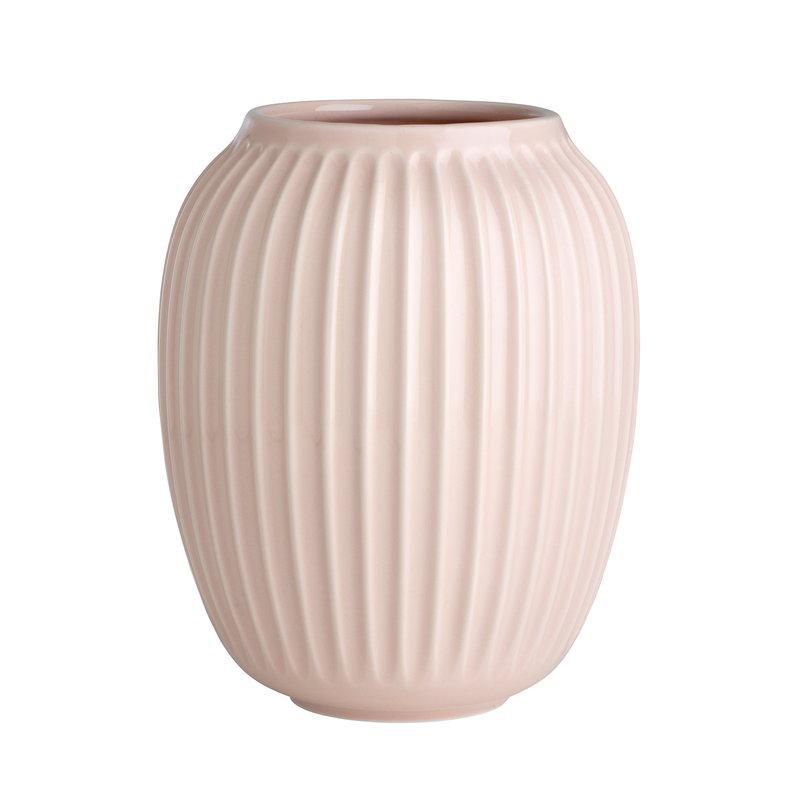 Kähler Vaso Hammershøi 200 mm, rosa