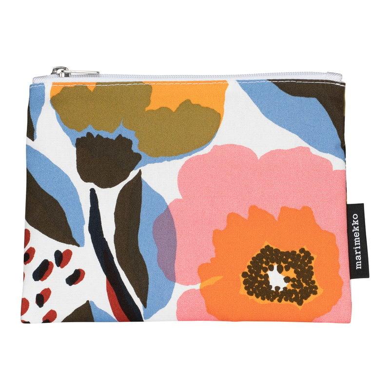 Marimekko Kaika Rosarium cosmetic bag, white
