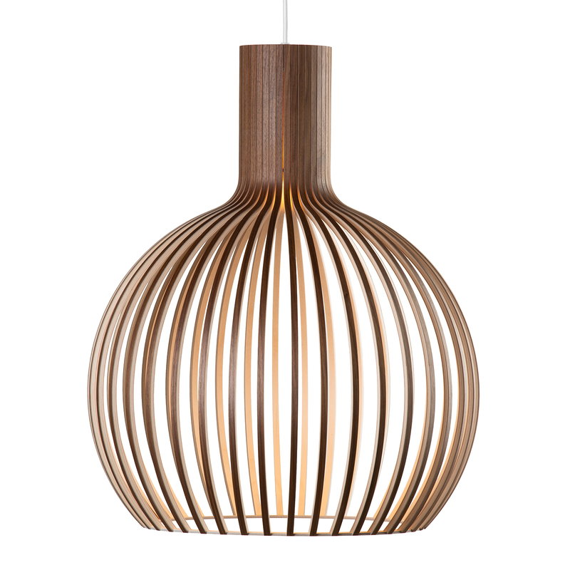 Secto Design Octo Small 4241 pendant, walnut
