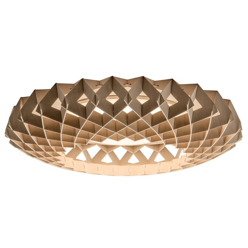 Showroom Finland Pilke 65 ceiling lamp, birch