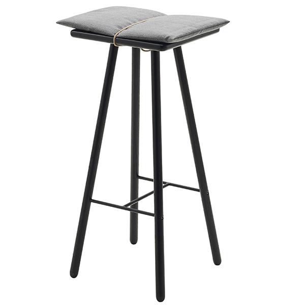 Skagerak Georg bar stool, high, black