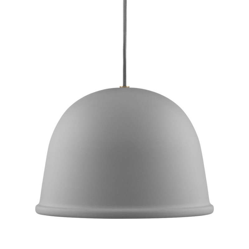 Normann Copenhagen Local Lamp riippuvalaisin, harmaa