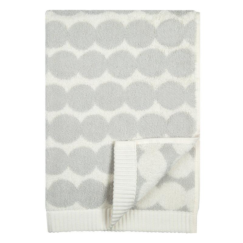 Marimekko Räsymatto hand towel, white - grey