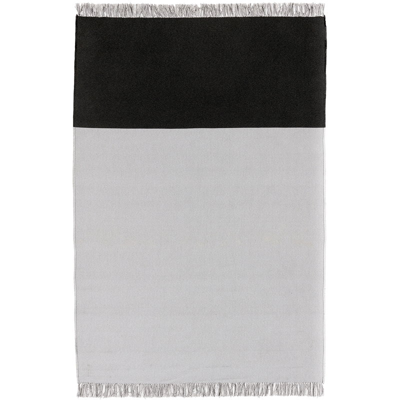 Woodnotes Pond rug, pearl grey - graphite