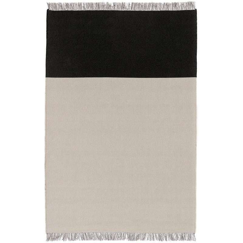 Woodnotes Pond rug, light sand - graphite