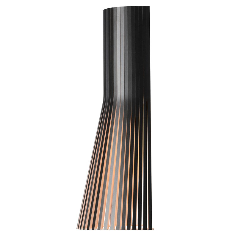Secto Design Secto 4231 seinävalaisin 45 cm, seinäkytkentä, musta
