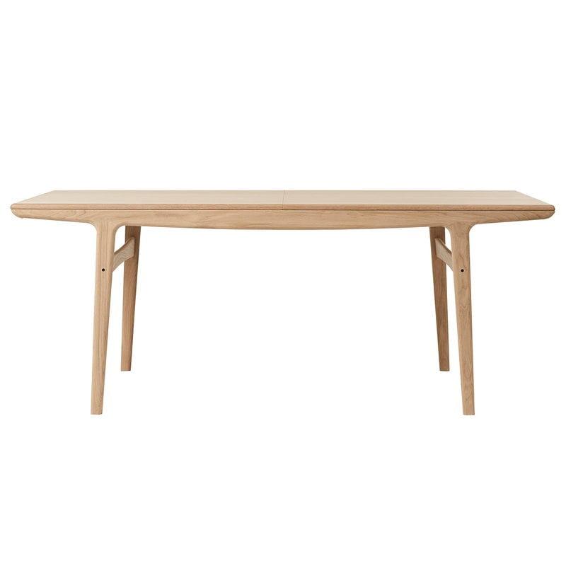 Warm Nordic Evermore ruokapöytä, 190 cm, tammi, jatkettava