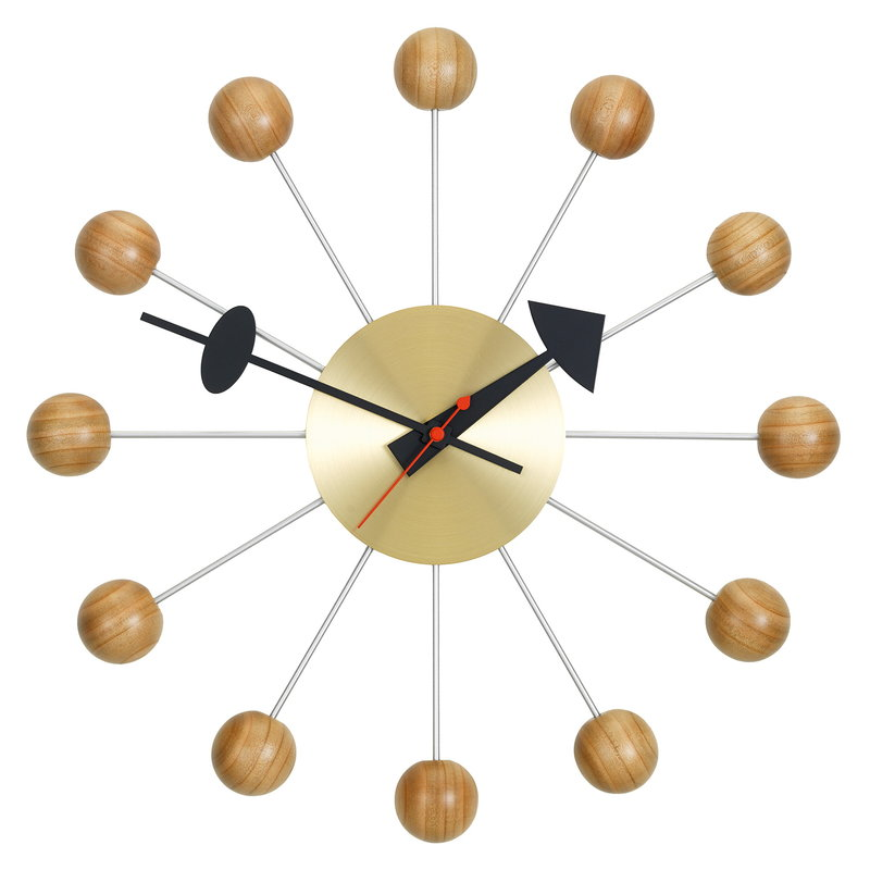 Vitra Ball Clock, cherry