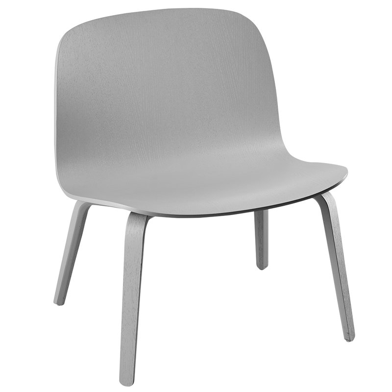 Muuto Visu lounge chair, grey